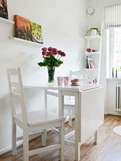 #mesa retrátil #branco