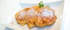 Racuchy Čo by ste povedali na takéto #raňajky? :) #racuchy #lievance #jablká http://varme.dennikn.sk/recipe/racuchy-polske-lievance-s-jablkami/