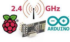 Funkkommunikation zwischen Raspberry Pi's und Arduinos (2.4 GHz)