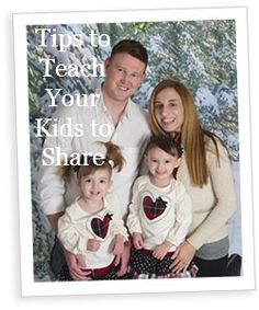 Tips to Teach Your Kids to Share - tips from 'Confessions of a Mommyaholic' blogger @Janine Hardy Huldie