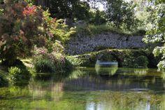Garden of Ninfa, near Sermoneta, Italy
