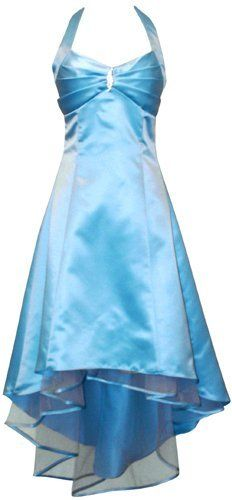 Satin Halter Dress Tulle Mini Train Prom Bridesmaid Holiday Formal Gown Junior Plus Size-42 Perfect Wedding http://www.amazon.co.uk/dp/B00CGZTM8I/ref=cm_sw_r_pi_dp_af33tb05307Q7YT8