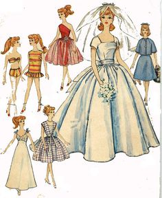 Instant PDF Download Vintage Sewing Pattern A Large by ickythecat