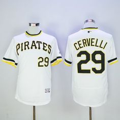 e27b562b054 Pirates  29 Francisco Cervelli White Flexbase Authentic Collection  Cooperstown Stitched MLB Jersey. wholesale jerseys
