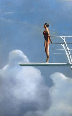 Eric Zener - The Deep End, 40 x 30, oil on canvas, 2008