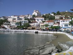 The island of Andros in the Cyclades has fast ferries from Rafina. There are some good beaches and the main town has two interesting museums. Andros Greece, Greece Resorts, Secluded Beach, Archaeological Site, Greece Travel, Night Life, Greek Islands, Museums, Places