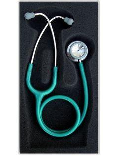 ESTETOSCÓPIO PROFESSIONAL VERDE PEROLIZADO   Melhor Preço! - Cirúrgica Joinville   Produtos Médicos e Hospitalares