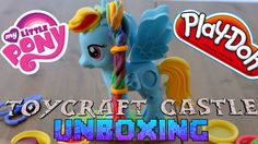 TC - UNBOXING - My Little Pony Play Doh Rainbow Dash POOP