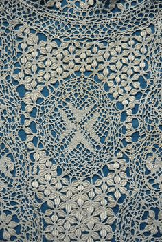 Maltese Lace with Maltese Cross