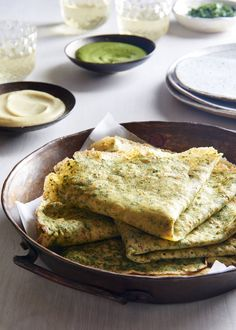 These gluten-free, vegan savory Indian crepes are super easy. They're fantastic served with curries and chutneys.
