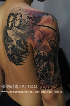 #beijintattoo# #tattoo# #chinesetattoo# #chinatattoo#  this my tattoos works .