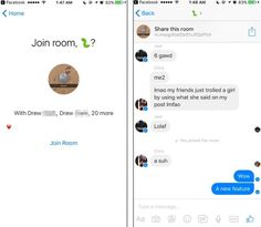 Facebook Testing Rooms Feature for Messenger in Australia Canada