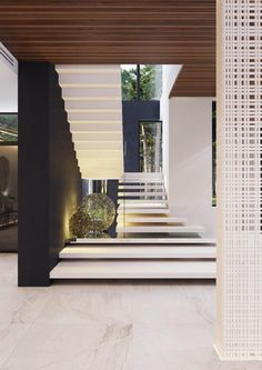 A Spacious Moscow Home That Exudes Luxury – staircase Luxury Staircase, Interior Staircase, Home Stairs Design, Modern House Design, Modern Interior Design, Interior Architecture, Modern Interiors, Open Staircase, Staircase Remodel
