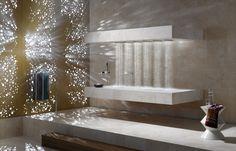 Horizontal shower by Dornbracht  http://www2.dornbracht.com/fr/