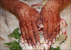 Henna bride Gulf