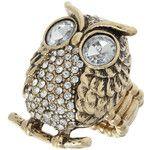 Cute owl rings $14.99 at Ooh La Loft www.oohlaloft.com    #cute #owl #ring