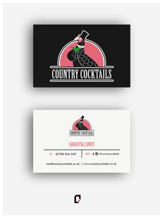• country cocktails • graphic design •