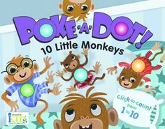 Poke-A-Dot: 10 Little Monkeys (30 Poke-able poppin; dots)  These Poke-A-Dot books are a HUGE hit with my toddlers (between 20 and 24 months). The poke-the-dots are like popping packing bubbles - my daughter is already counting (basics) before 24 months because of these books! The label on amazon says that the books are for kids over 3 years old, but my two can't get enough of them.