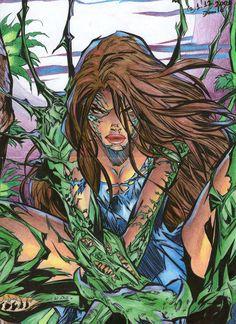 01 de dezembro, 2001 Desenho no tamanho A4. Pintura feita com lápis de cor comum e canetas hidrocores, contorno todo feito com caneta esferográfica preta.