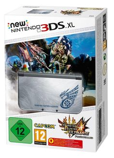 New 3DS XL Monster Hunter 4 Ultimate édition collector.