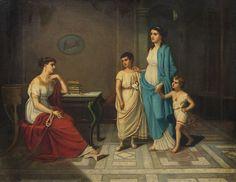 Elizabeth Jane Gardner Bouguereau, Cornelia si bijuteriile ei
