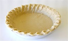 Never Fail Pie Crust | MADE Love this recipe! I froze the extra crusts for later use. Thawed them, rolled them out, and they were still flaky. Good-bye Pillsbury Crusts;)