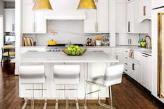 This Home Will Inspire You to Break with Tradition: Glamorizing with Brass and Acrylic