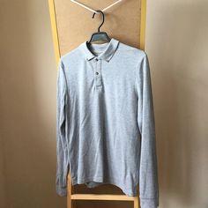 aed65b96 Asos, Medium, Menswear, Polo, Long Sleeve, Sleeves, Grey, Jackets. Depop