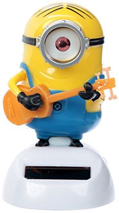 Bring home your favourite minions with these super cool solar pal figures! A fantastic new addition to the Solar Pals Range from the popular Minion Mo… Minions, Minion Toy, Minion Dance, Solar Powered Toys, Dancing Toys, Solar Power Kits, Decorative Pebbles, Baby Bath Toys, Desk Toys