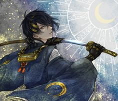 I am the moon, and so of course my name could only be Mikazuki.