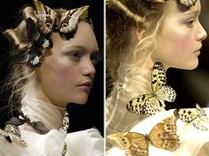 Alexander McQueen Butterfly | and a better look at the whole outfit:
