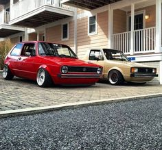 Mk1 Golf & Caddy  Euro bumpers are nice