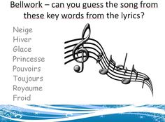 Lesson based around the French version of 'Let it Go' from Frozen - could be used to introduce winter vocabulary.