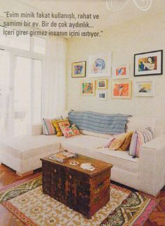 My Apartment - featured in Maison Française, May 2012.
