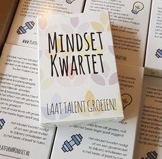 Mindset Kwartet! www.platformmindset.nl #groeimindset #growthmindset