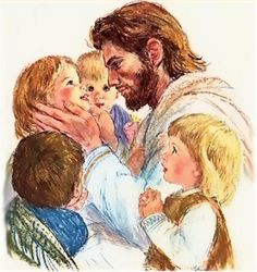 """13 Then they brought little children to Him, that He might touch them; but the disciples rebuked those who brought them. 14 But when Jesus saw it, He was greatly displeased and said to them, """"Let the little children come to Me, and do not forbid them; for of such is the kingdom of God. Mark 10:12-14, NKJV"""