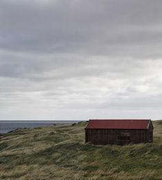 Hullaannu ja hurmaannu: Islantilainen työhuone huikeissa maisemissa