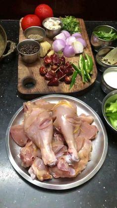 Chicken Recipes Dry, Chicken Tenderloin Recipes, Indian Chicken Recipes, Indian Dessert Recipes, Chicken Receipe, Chicken Gravy, Puri Recipes, Paneer Recipes, Veg Recipes