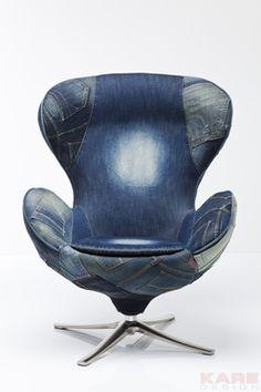Кресло, фанера, ткань, металл, ППУ,1070/840/700, 77623 #chair #design #karedesign