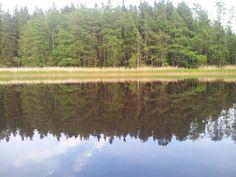 Spegel blankt på sjön :-)