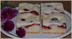 Rychlý koláč se švestkami a tvarohem Perfect Cheesecake Recipe, Cheesecake Recipes, Sweet Cakes, Pudding, Pie, Dishes, Food, Pies, Reposteria