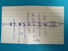 Easy Way to remember insulins