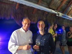 El Dorado Royale Chef Erick Peters and 2 Michelin Star Chef, Ryan Pollnow. #Mexico #Wine #KJfriends