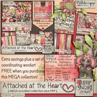 Attached at the Heart ~ Mega Bundle ~ by Jumpstart Designs