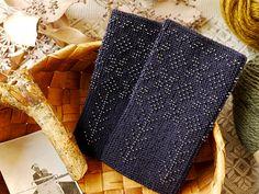 黒地に黒のパールビーズを編み込んだリストウォーマーは光り過ぎず、夜空に輝く星のようなシックさです。 ...   presse blog