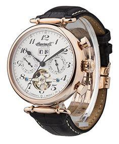 Ingersoll Men's IN1312RSL Walldorf Self-Wind Rose Gold-Tone Stainless Steel Watch