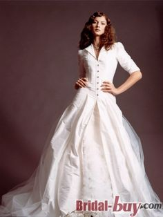 Elegant Princess Winter Style Long Taffeta Wedding Dress With A Coat Wd 9264 Bridal