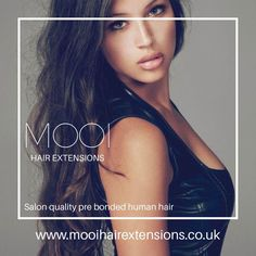 Mooi is one of the best pre bonded hair extension suppliers in UK, we have a range of lengths and to choose from and have something to meet all of our customers requirements. Pre Bonded Hair Extensions, Human Hair Extensions, Hair Extension Salon, Your Hair, How To Look Better, Range, Meet, Colours, Natural