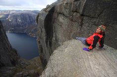 Kjeragbolten; Forsand, Norway | 13 Breathtaking Places Guaranteed To Make Your Stomach Drop
