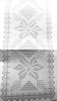 Crochet ideas that you'll love Crochet Round, Crochet Home, Crochet Motif, Irish Crochet, Crochet Doilies, Crochet Stitches, Crochet Table Runner, Crochet Tablecloth, Embroidery Patterns